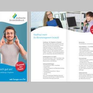 Broschüre für Auszubildende