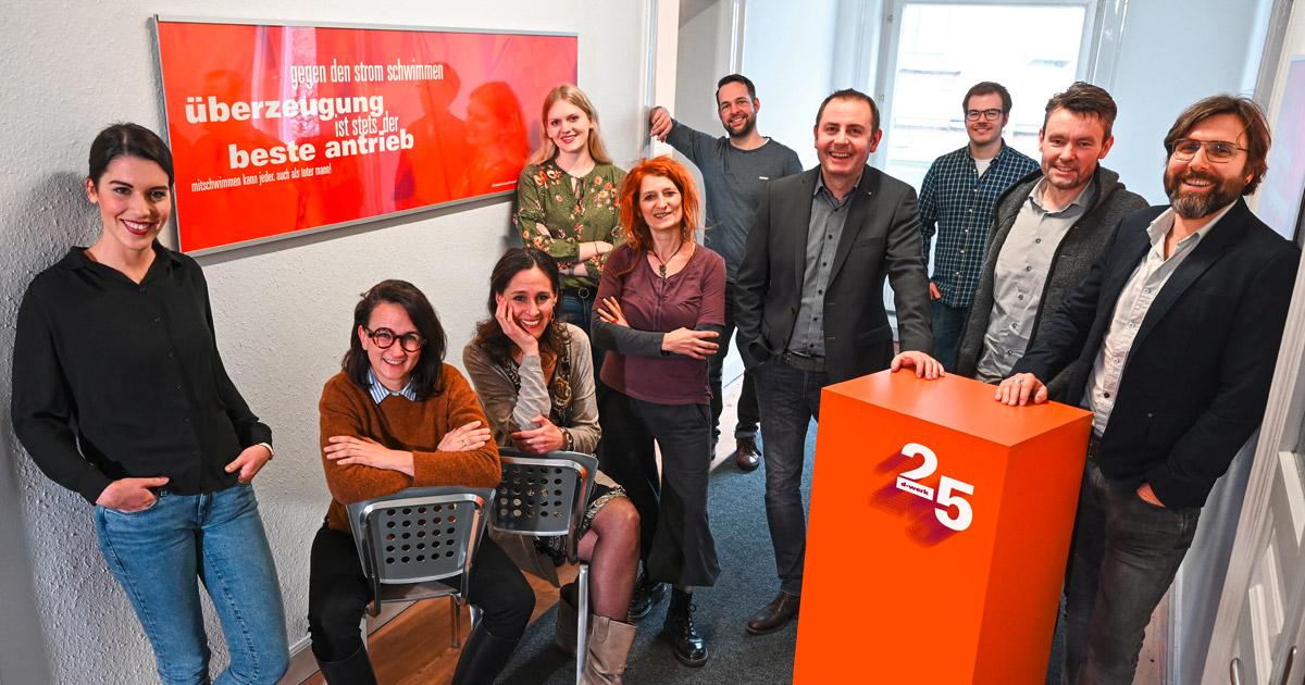 Ravensburger Designagentur ist jetzt 25 Jahre alt