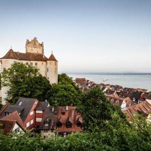 Ansicht von Meersburg