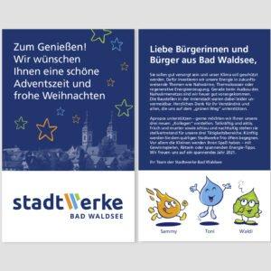 Stadtwerke Bad Waldsee –Lebkuchen-Aktion 2020