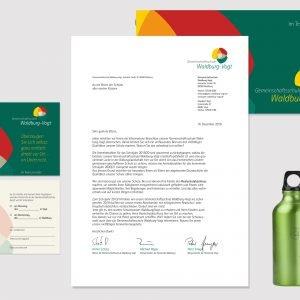 Anschreiben mit Imagebroschüre und Einladung zur Hospitation