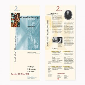 Faltplakat 1998