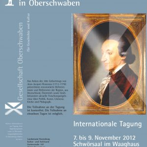 Plakat, Internationale Tagung, 1998
