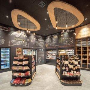 Porta Samedan | Innenansicht Shop