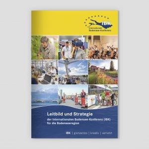 """Die Broschüre """"Leitbild und Strategie"""" der IBK"""