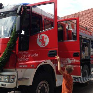 Gemeinde Schlier, Feuerwehrauto