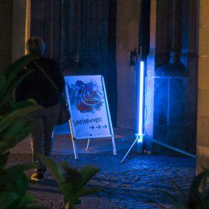 """Das erste mal wurde der """"Seelenvogel"""" in der Liebfrauenkirche in Ravensburg 2017 ausgestellt"""