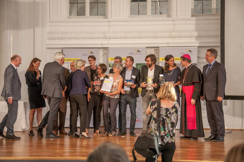 """Caritas, Diakonie und Ministerium für Wirtschaft, Arbeit und Wohnungsbau verleihen """"Mittelstandspreis für soziale Verantwortung in Baden-Württemberg 2018"""""""