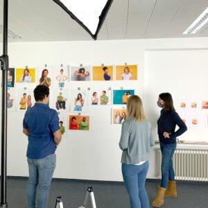 Recruiting Landkreis Ravensburg – Fotoshooting  mit Auszubildenden des Landratsamtess