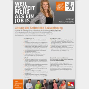 Recruiting Landkreis Ravensburg – Stellenausschreibung Professionals