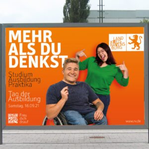 Recruiting Landkreis Ravensburg – Plakat