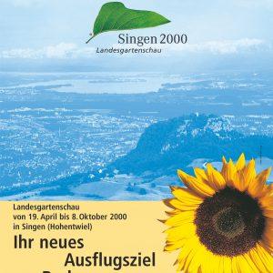 Plakat Singen 2000