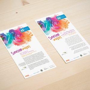 Info-Flyer zum Seelenvogel-Projekt