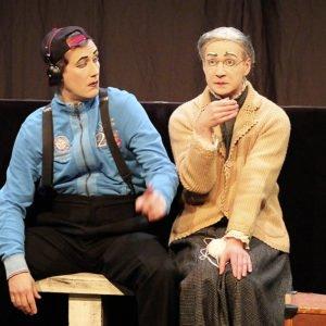 Die Pantomimekünstler der Compagnie Bodecker und Neander – Schüler des großen Marcel Marceau – zeigten, dass Schweigen wahrlich Gold sein kann