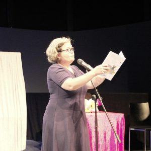 Tina Kemnitz liest…