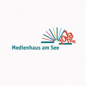 Medienhaus am See – Zum 10-jährigen Jubiläum wurde das Logo erweitert, bzw. wurde ein neues Kapitel aufgeschlagen