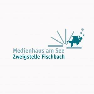 Medienhaus am See – Das Logo der Zweigstelle Fischbach