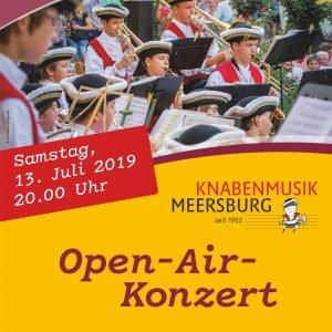 Meersburg, Plakat Knabenmusik