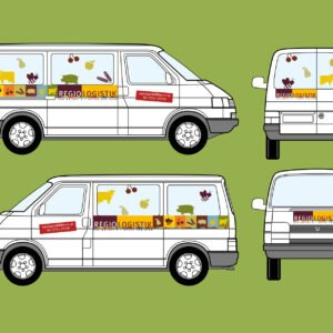 Regiologistik Fahrzeugbeschriftung