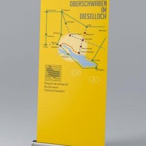 """Rollup für Presse-Konferenz zur """"Bodenseegürtelbahn"""" im April 2020"""
