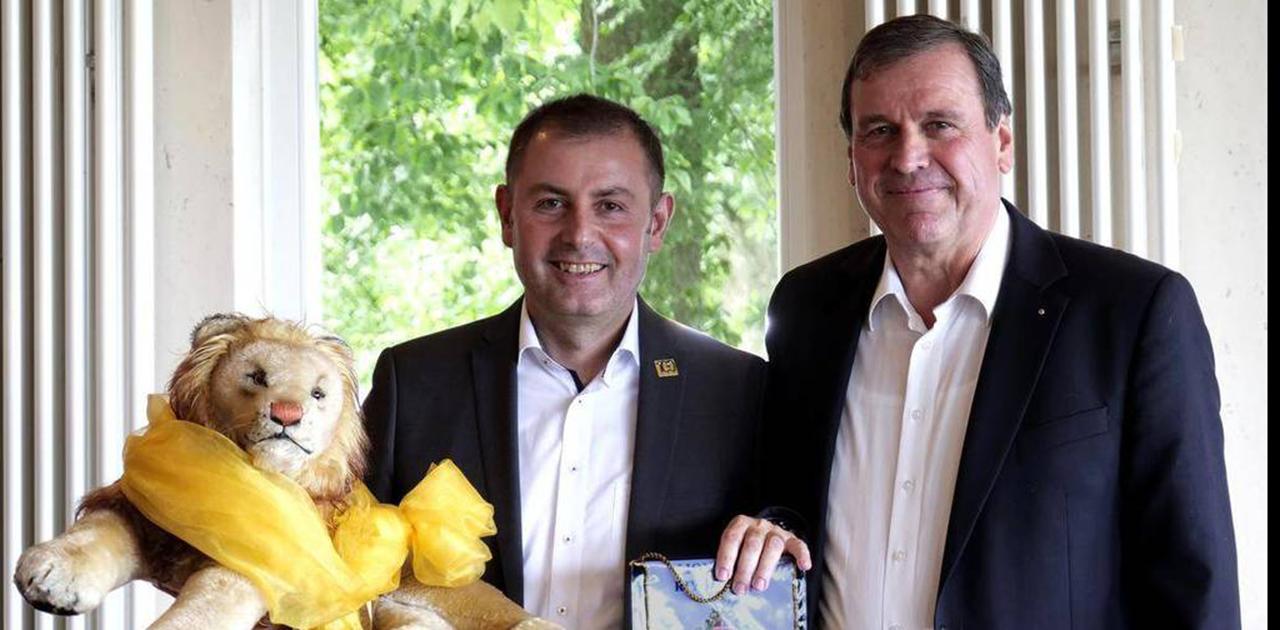 Tom Maier ist der neue Präsident des Lions Clubs Ravensburg