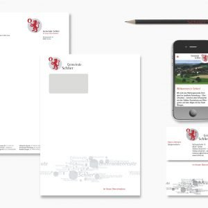 Gemeinde Schlier, Corporate Design