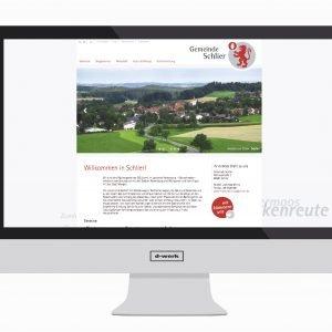 Gemeinde Schlier, Website