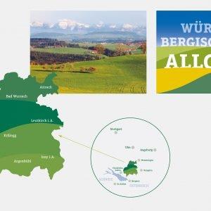 Das Württembergische Allgäu ist eine Teilregion des gesamten Allgäus. Sie reicht von Wangen über Wolfegg und Bad Wurzach bis nach Leutkirch, Isny und Argenbühl. Insgesamt 14 Kommunen arbeiten eng zusammen, um den Tourismus im württembergischen Teil des Allgäus gemeinsam zu fördern.