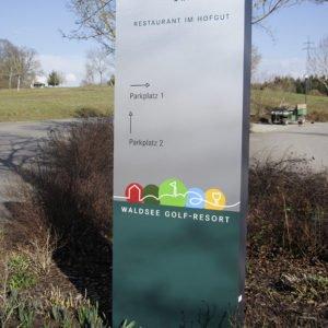 Stehle Parkplatz