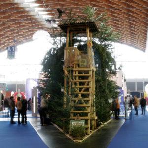 """ADAM 2007: Silber in der Kategorie """"S"""" für den Messeauftritt """"Waldeslust"""" auf der creative industries 2007. Außerdem nominiert für den Deutschen Designpreis 2009"""