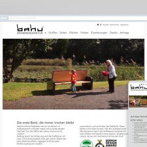 bahu Bankmanufaktur – Website