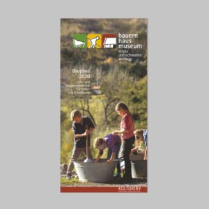 Museumspädagogik Faltblatt