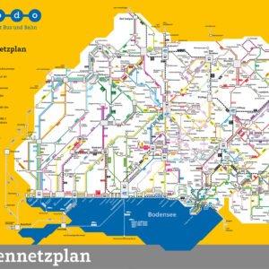 bodo – Liniennetzplan