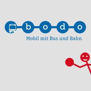 bodo – Logo und Claim