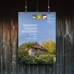Bauernhaus-Museum Wolfegg – Plakat