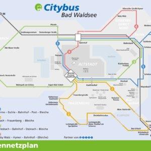 Citybus Bad Waldsee – Linienplan