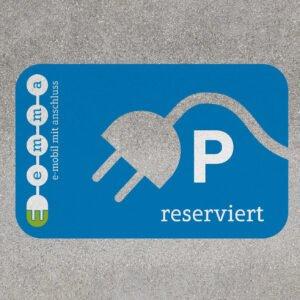 emma – Parkplatzmarkierung
