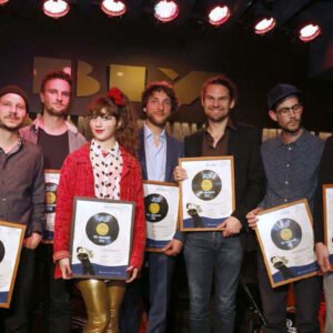 IBK Förderpreis Jazz 2015 –  Preisträger mit Urkunden