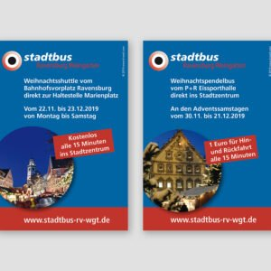 stadtbus – Anzeigen