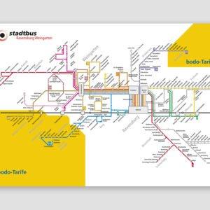 stadtbus – Linienplan