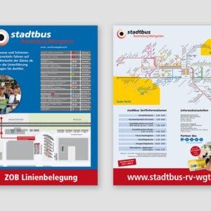 stadtbus – Plakate