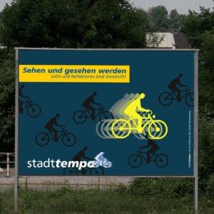 """Stadttempo – Kampagne """"sehen und gesehen werden"""""""