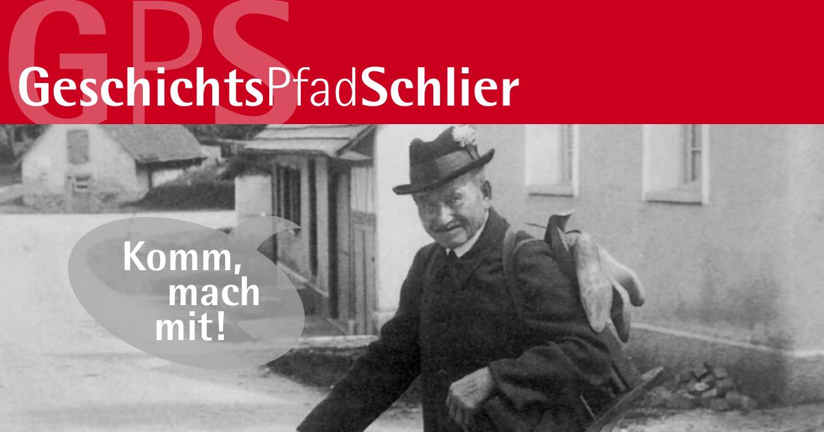 In Schlier soll historischer Geschichtspfad entstehen