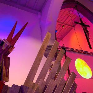 Impressionen der Seelenvogel-Ausstellung in St. Jodok