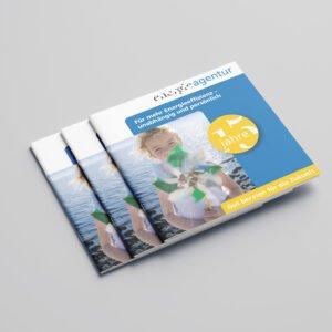 Energieagentur – Jubiläumsbroschüre