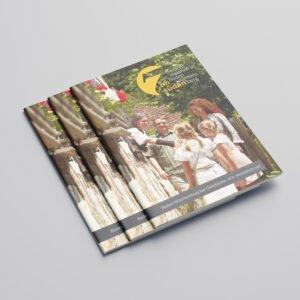 Sieben im Süden Broschüre Titel