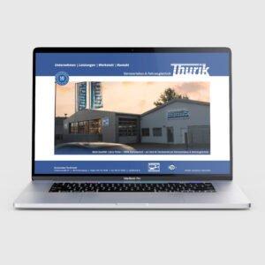 Thurik Website Startseite