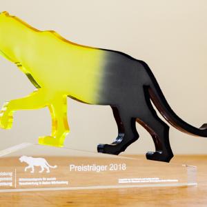 Mittelstandspreis für soziale Verantwortung in Baden-Württemberg 2018 für das Integrative Kunstprojekt Seelenvogel