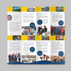 Faltkarte 10 Jahre IBK-Kleinprojektefonds