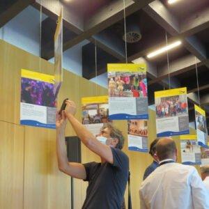 Begleitende Präsentation der geförderten Projekte